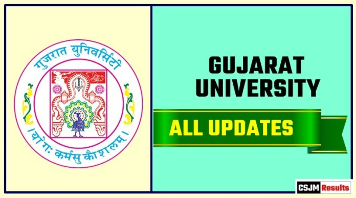 Gujarat University Result Time Table Admit Card Admission