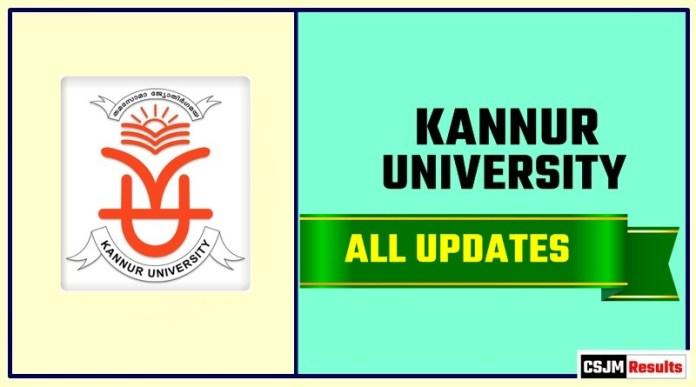 Kannur University Result Time Table Admit Card Admission