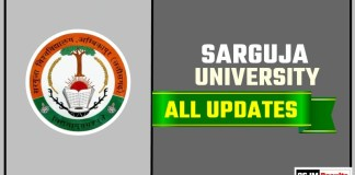 Sarguja University Result Time Table Admit Card Admission