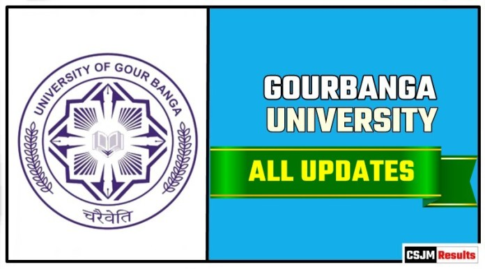 UGB Gourbanga University Result Time Table Admit Card Admission