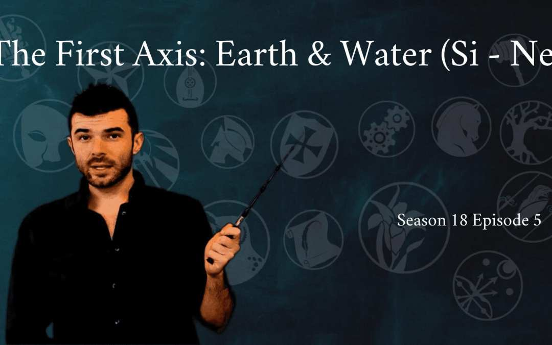 The First Axis: Earth and Water (Si – Ne)