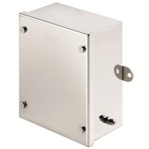 150 X 120 X 80 SS KLIPPON STB BOX