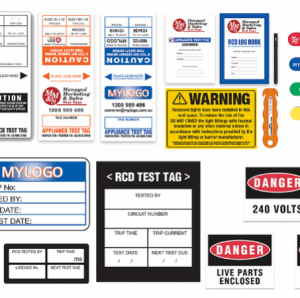 H/Duty Test Tags - Laminated
