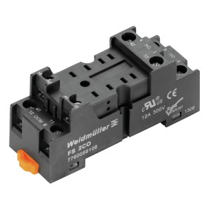 RELAY BASE, D-SERIES, FS 2CO
