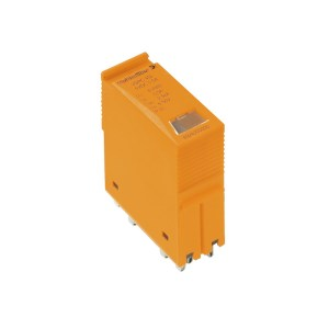 Surge voltage arrester (data networks/MCR-technology), with warning function / function indicator, analogue, Number of signals: 2, DC, 24 V, 450 mA, T
