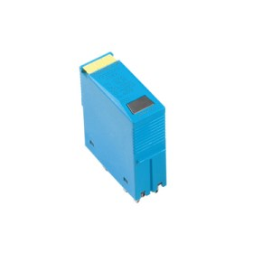 Surge voltage arrester (data networks/MCR-technology), without warning function / function indicator, analogue, Number of signals: 2, DC, 24 V, 250 mA