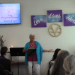 Rev. Jyoti delivers Sunday Message