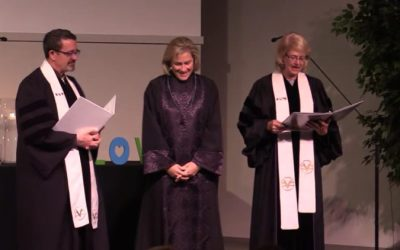 Rev Karen Fry's Ordination Ceremony