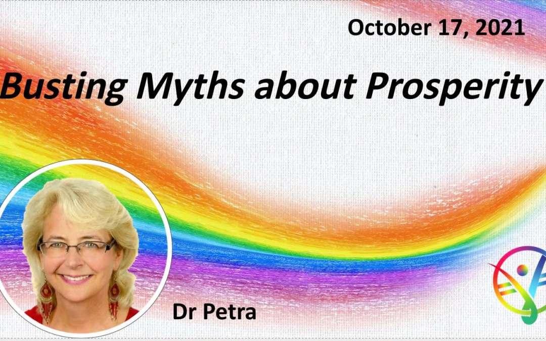 Busting Myths about Prosperity – Talk Only