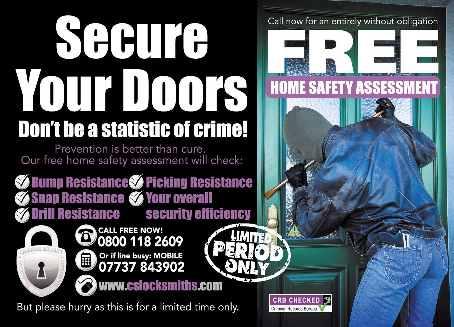 Burglary prevention image