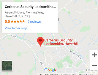 Cerberus Security locksmiths Haverhill