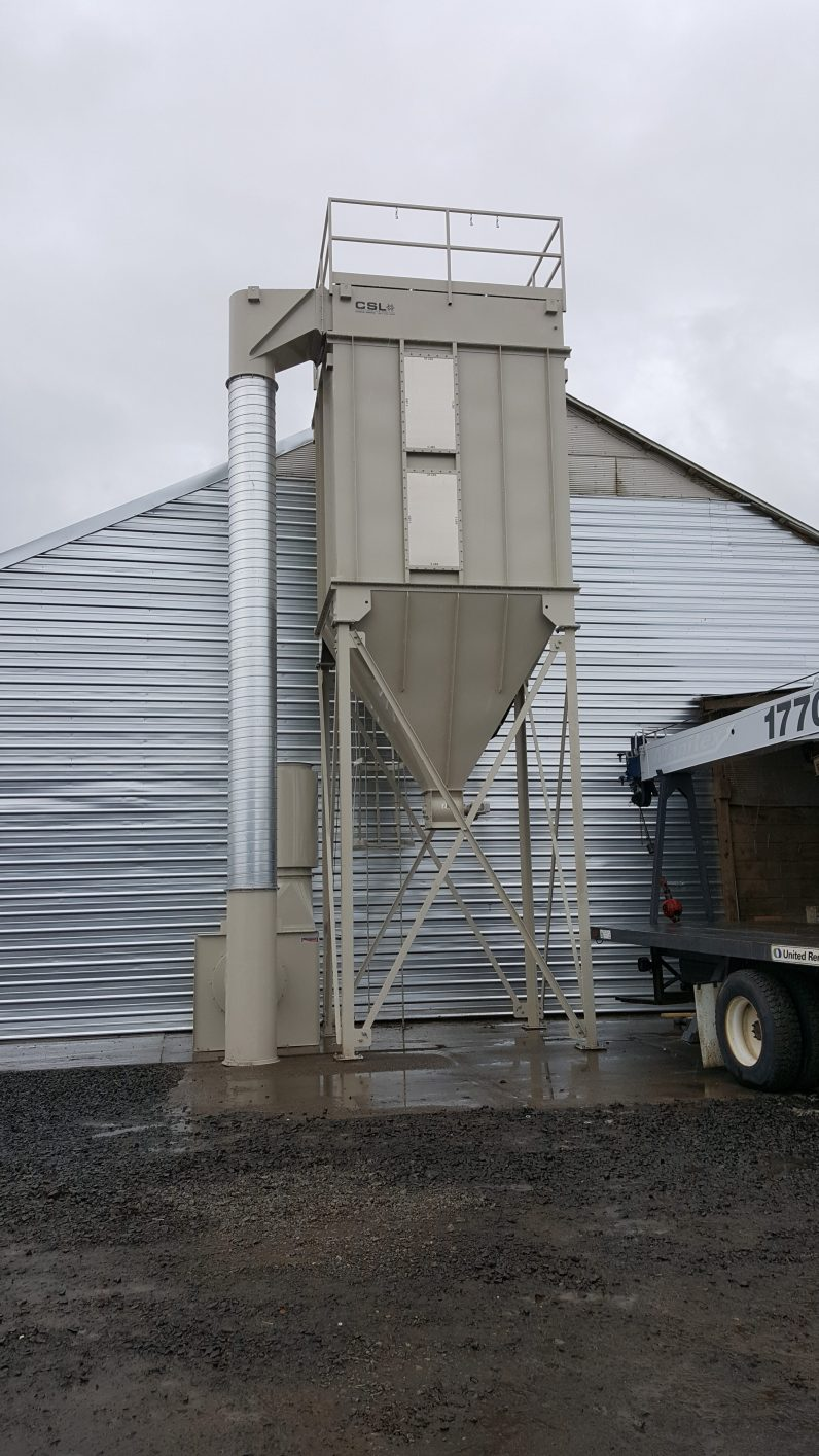 Seed Cleaning in Corvallis, Oregon