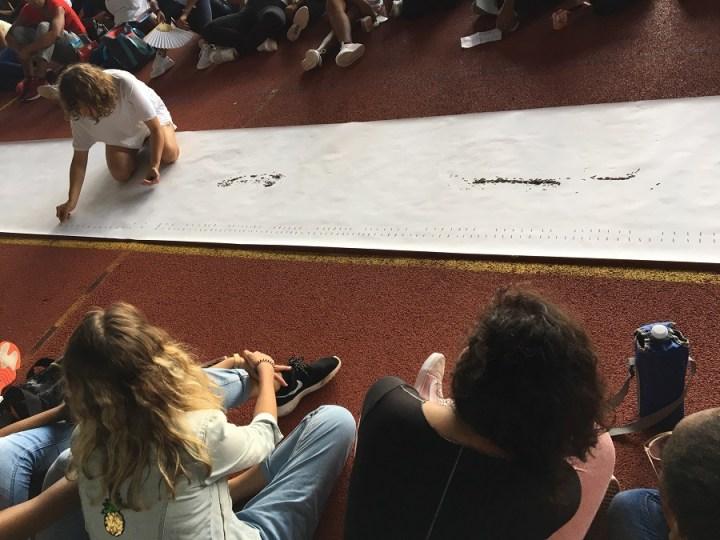 Performance Lara Kramer - FIAP 2019 Martinique