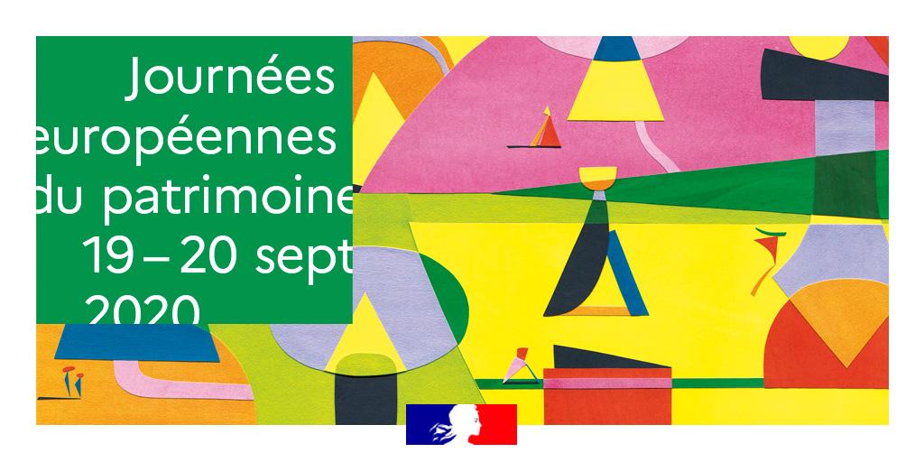 Journées européennes du patrimoine 19 - 20 sept 2020