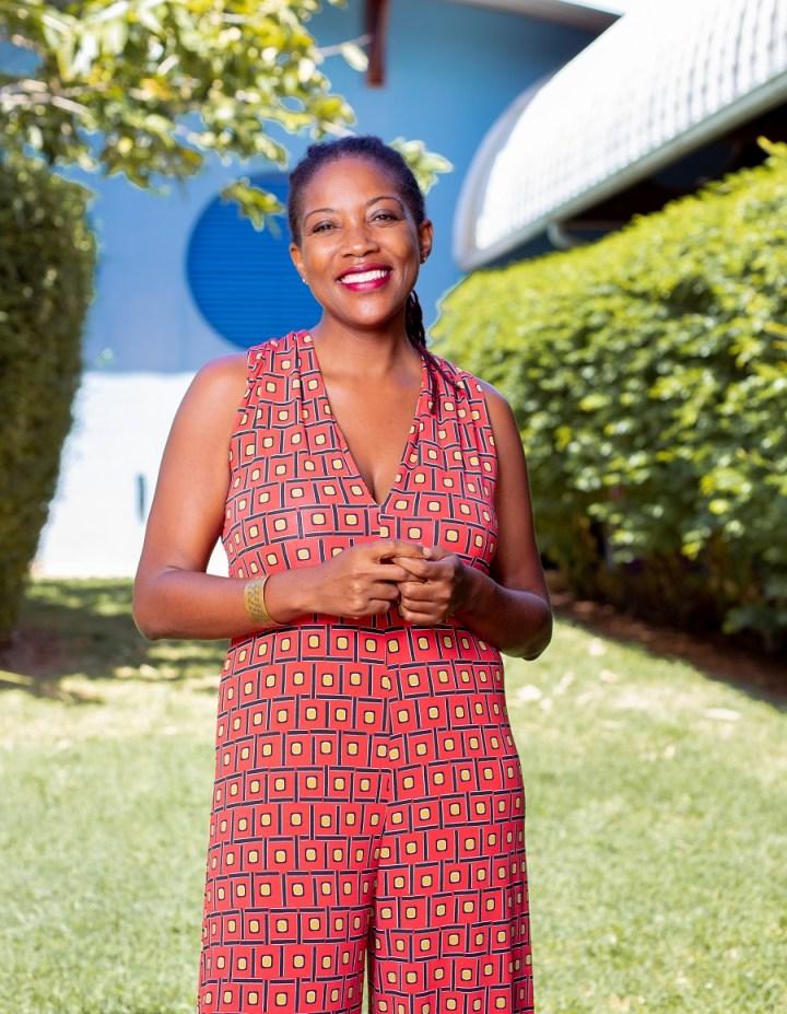 Michaelle Ngo Yamb Ngan - directrice du conservatoire de musique, de danse et de théâtre de la Guyane