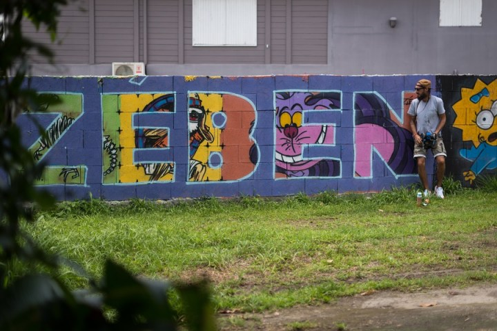 Fresque Zé Ben - Martinique