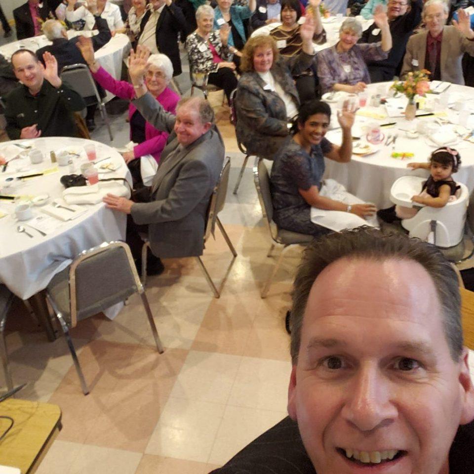 Selfie of Annual Meeting