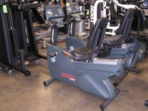 Life Fitness LifeCycle 9500HR Next Generation Recumbent Bike