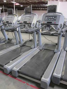 Life Fitness 93T Treadmill with TV