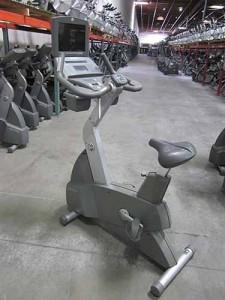 Life Fitness 95Ci Upriht Bike with TV