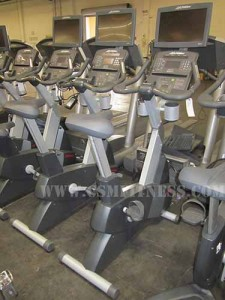 Life Fitness CLSC Integrity Upright Bike with TV