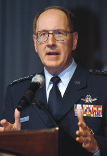 Gen. C. Robert Kehler, Commander of Air Force Space Command