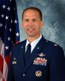 Lt. Col. Brent McArthur, 3rd Space Operations Squadron commander