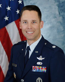 Lt. Col. Michael Wulfestieg, Chief of Safety, 50th Space Wing