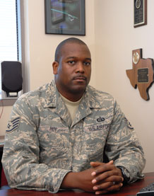 Staff Sgt. D' Ontay Roy, 50th Force Support Squadron