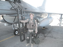 30 a.m. March 17, at The Club. Major May received the Distinguished Flying Cross for a 2003 mission over Baghdad where her team destroyed surface-to-air missile launchers. For luncheon tickets call Tech. Sgt. Melanie Guptill, 556-6258. (Photo courtesy of Major May)