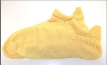 Free Heel Tab No Show Sock Pattern 2