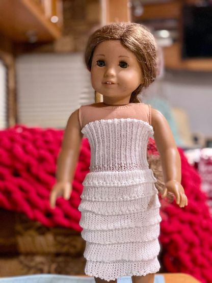 Myra Kness American Girl Doll Wedding Dress/Formal 1