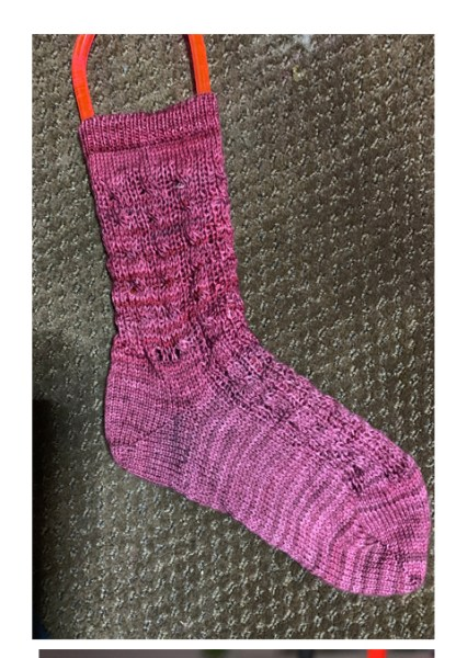 Myra Kness CSM Cabled Socks 1