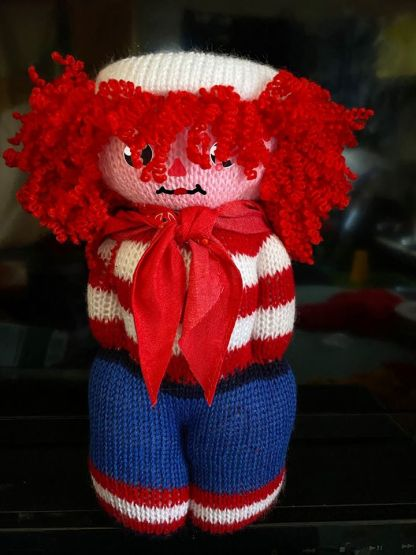 Myra Kness Raggedy Andy Doll 1
