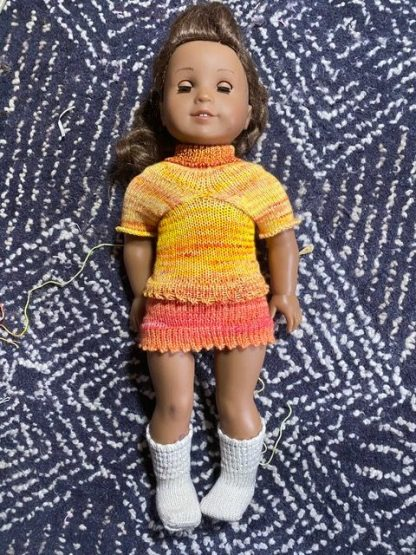 Myra Kness AG Doll Dress and Blouse 2