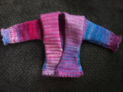 Myra Kness Doll Sweater 1
