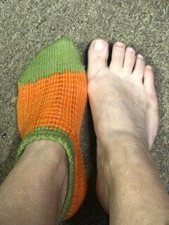 Pumpkin Socks 17