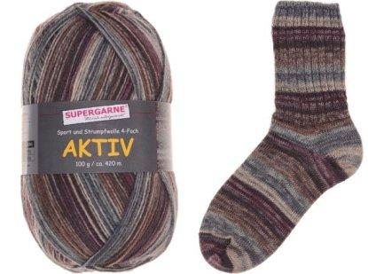 Aktiv Sock Yarn Bundle 3 100g skeins IRELAND 4