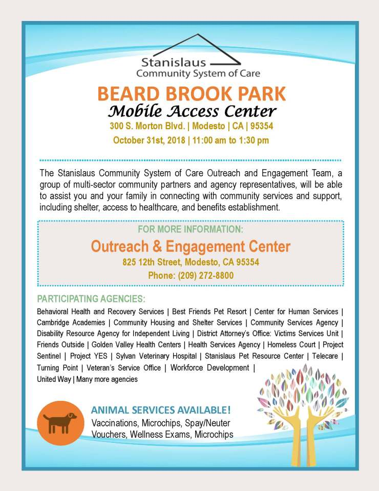 Beard Brook Park Mobile Access Center 1031
