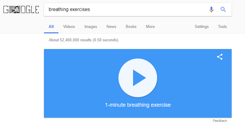 Google Is Now Your Breathing Coach