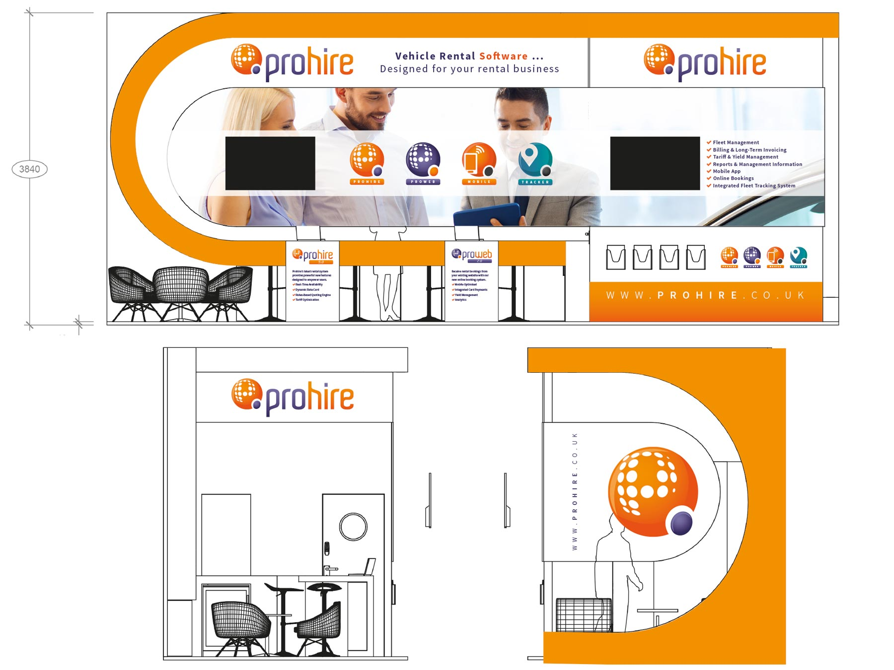 Prohire Exhibition Design