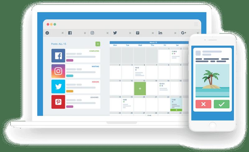 Kontentino social media dashboard