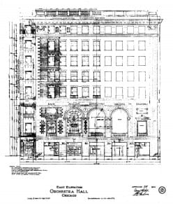 Daniel Burnham's near-final elevation, May 18, 1904**