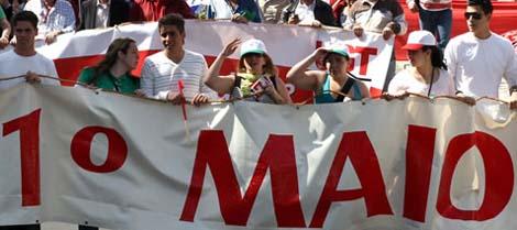 Todos ao  1° de Maio de luta na Paulista