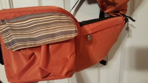 orange baby carrier 4