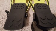 yellow swim fins 10