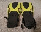 yellow swim fins 8