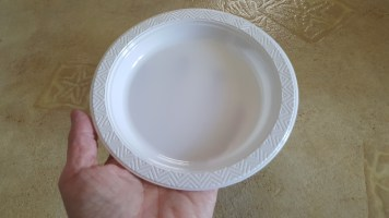 white plate 3