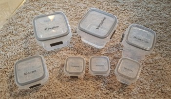 small portioned containers 2