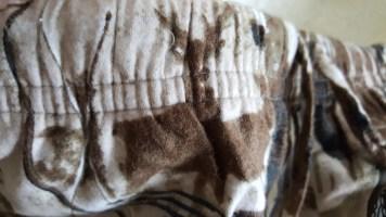 Deer flannel pajamas 4
